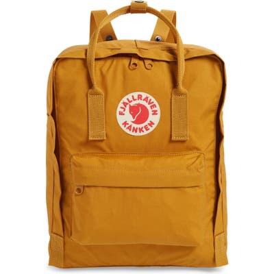 Fjallraven Kanken Water Resistant Backpack - Yellow