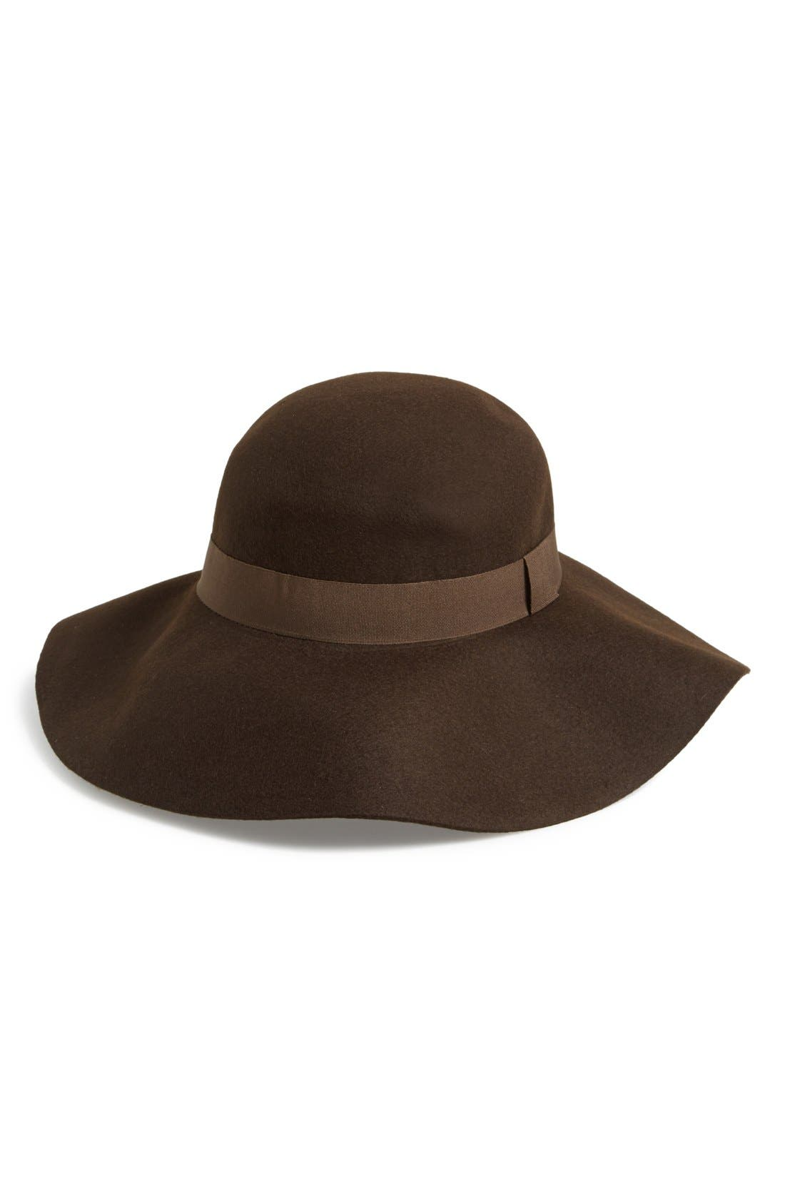 ,                             Floppy Felt Hat,                             Alternate thumbnail 8, color,                             200