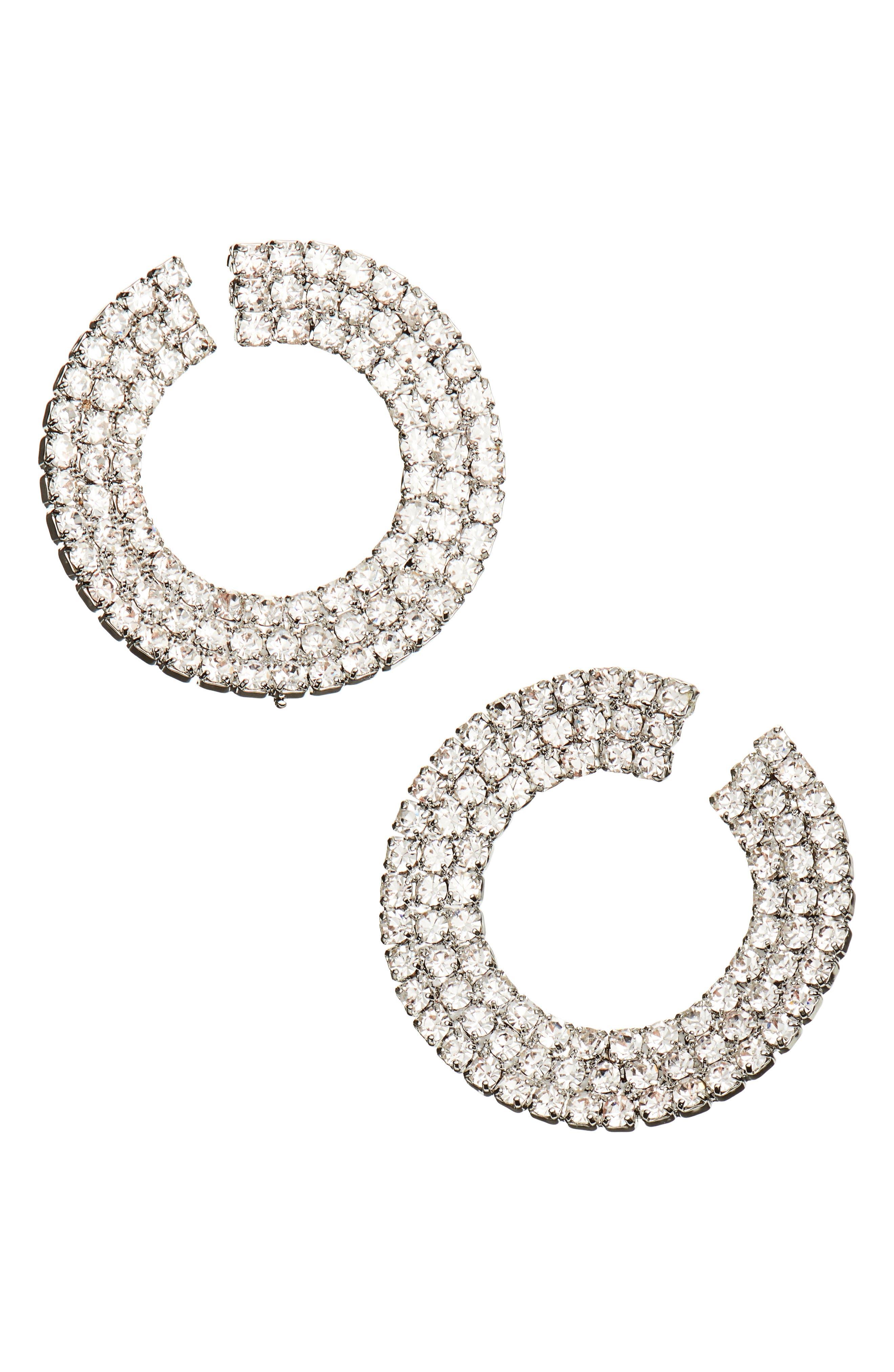 Ring Post Earrings