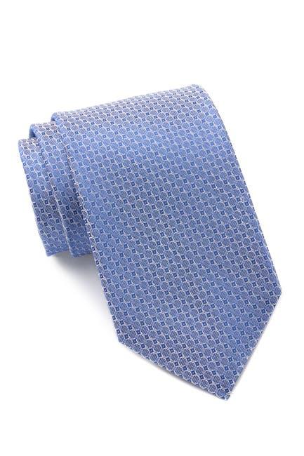 Image of Calvin Klein Diamond Geo Silk Tie