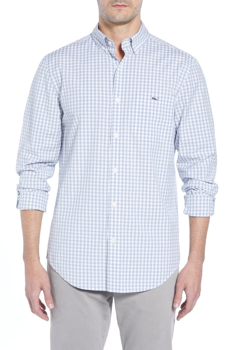 VINEYARD VINES Carleton Classic Fit Gingham Buttondown Shirt, Main, color, 023