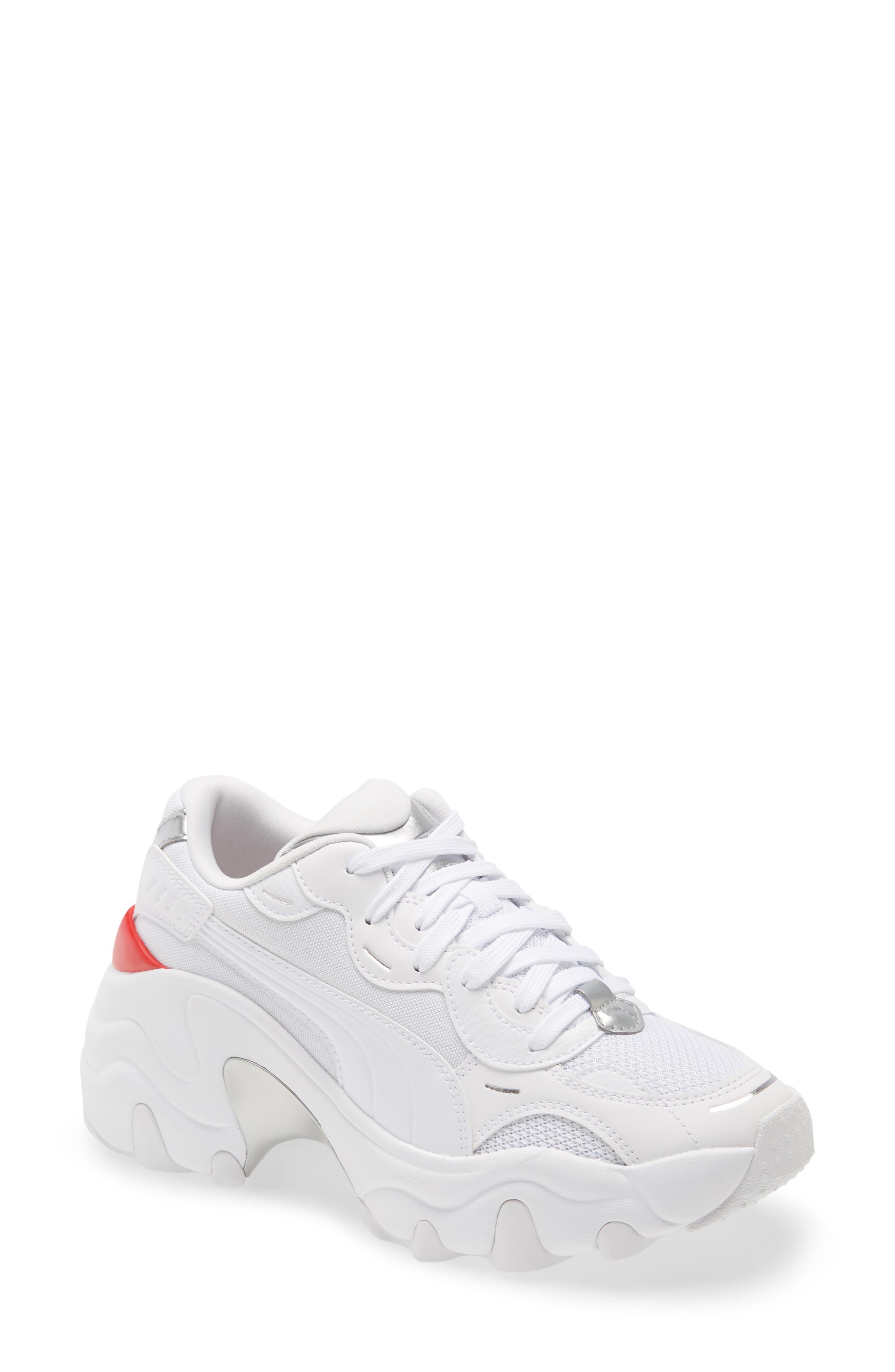 Image of PUMA Pulsar Wedge Tech Glam Sneaker