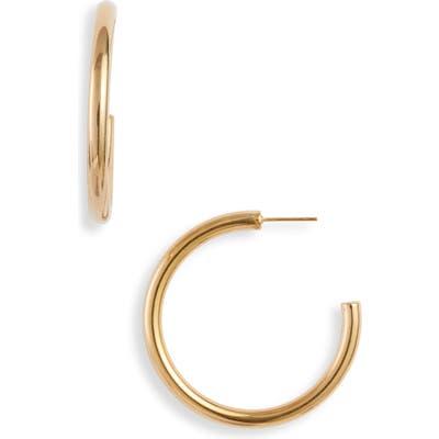 Ellie Vail Jade Large Hoop Earrings