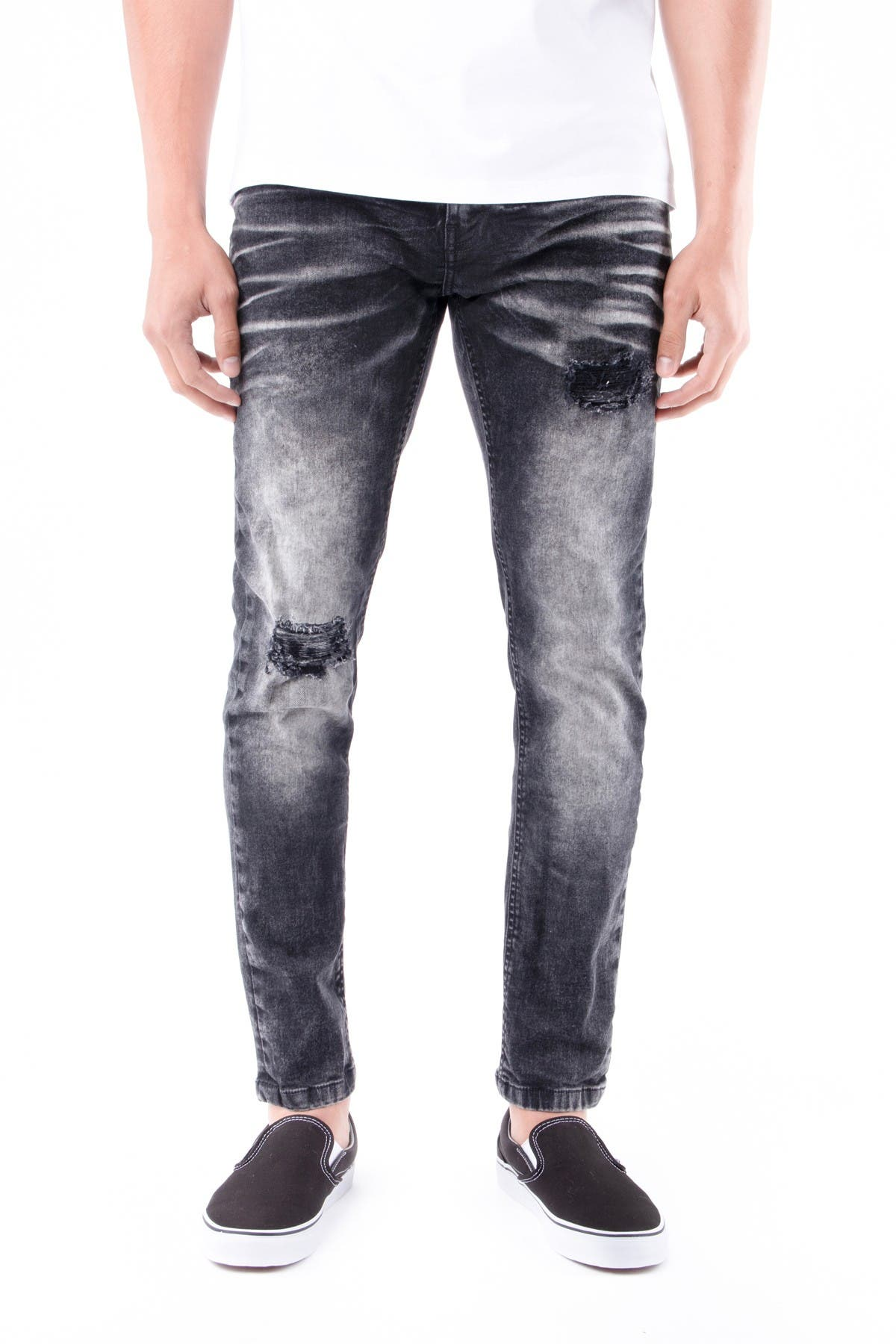 Image of XRAY Skinny-Fit Washed Stretch Jeans