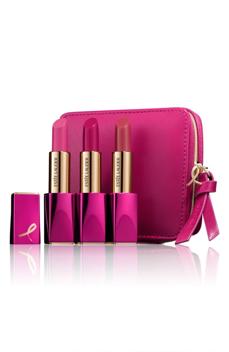 ESTÉE LAUDER Pink Perfection Lipstick Set, Main, color, 000