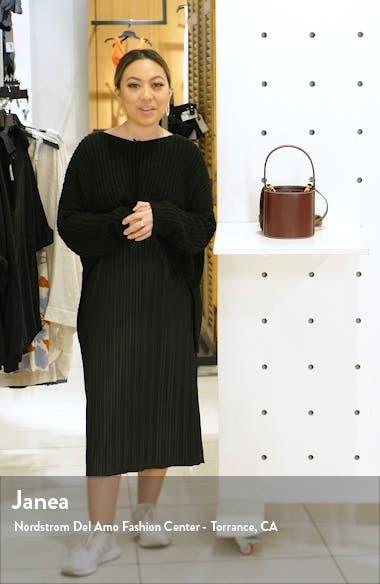 Mini Bissett Leather Bucket Bag, sales video thumbnail