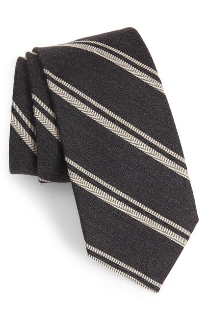 Image of Bonobos Dornach Wool Blend Striped Tie