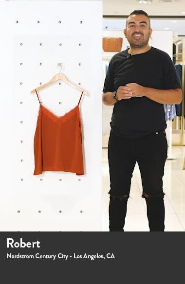 Leopard Print Lace Trim Camisole, sales video thumbnail