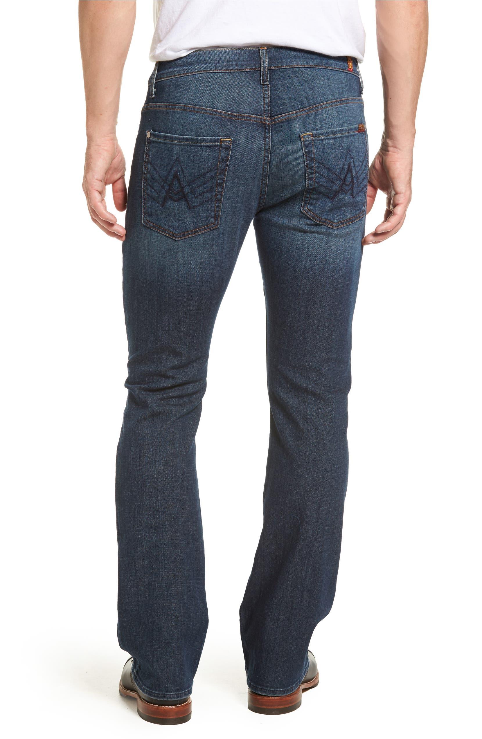 3485a0d8 7 For All Mankind® Brett Bootcut Jeans (Dark New York) | Nordstrom