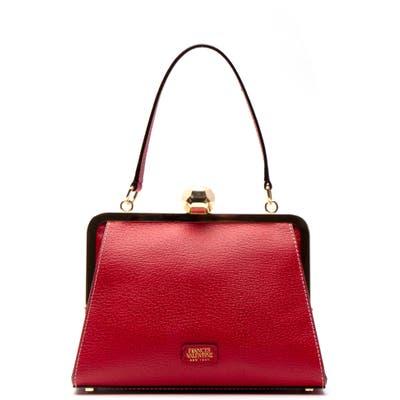 Frances Valentine Small Jackie Leather Handbag - Red