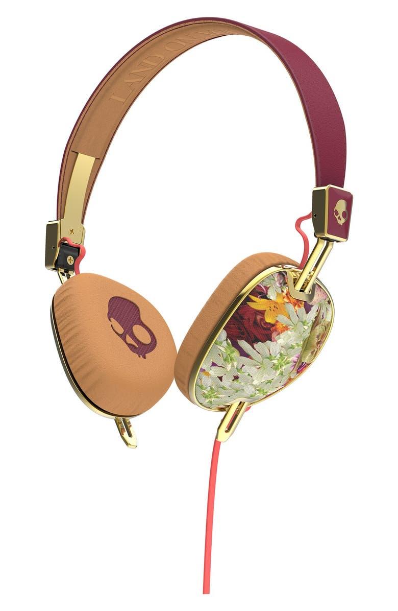 SKULLCANDY 'Knockout Floral' Headphones, Main, color, 650