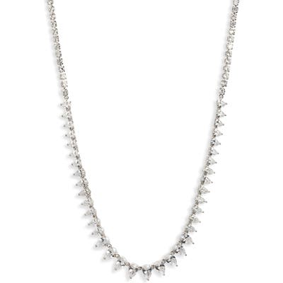 Nordstrom Graduated Pear Collar Necklace