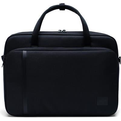 Herschel Supply Co. Gibson Travel Briefcase - Black