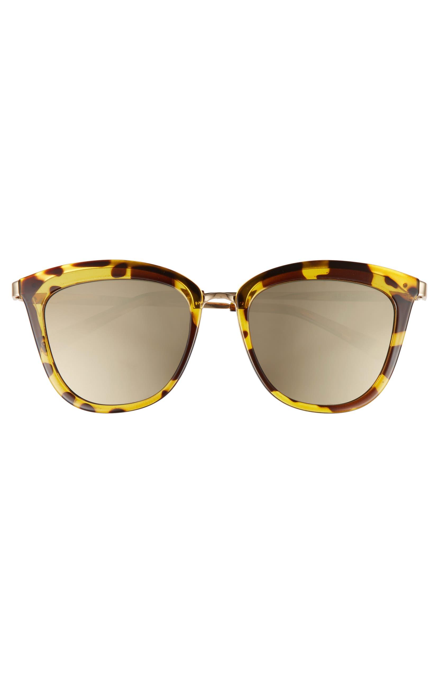 3fb7163d29 Le Specs Caliente 53mm Cat Eye Sunglasses