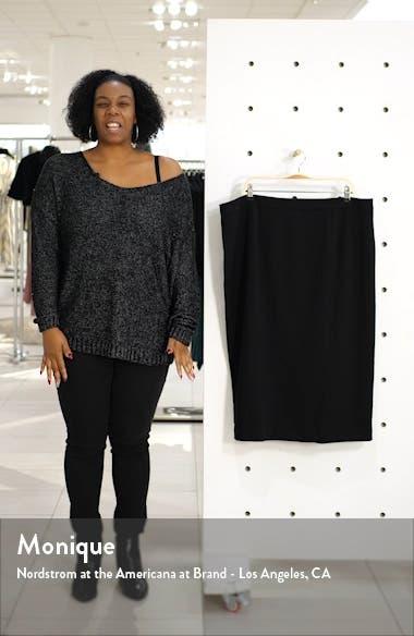 Stretch Twill Pencil Skirt, sales video thumbnail