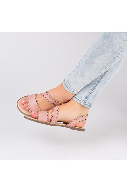 Image of JOURNEE Collection Aubrinn Strap Sandal