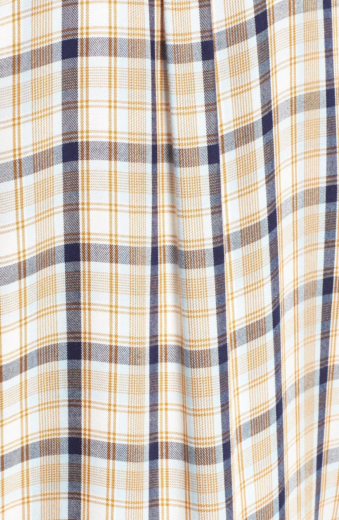 ,                             Plaid Tunic Shirt,                             Alternate thumbnail 46, color,                             900