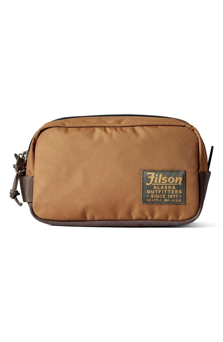 FILSON Travel Kit, Main, color, WHISKEY