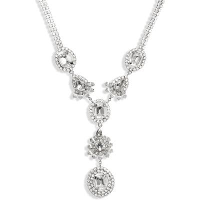 Christabelle Crystal Y-Necklace