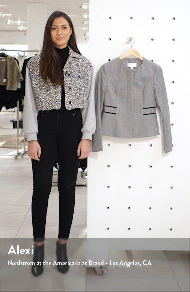 Javilla Stretch Wool Collarless Jacket, sales video thumbnail