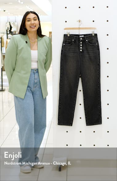 Button Fly Mom Jeans, sales video thumbnail