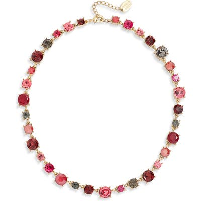 Stella + Ruby Crystal Collar Necklace