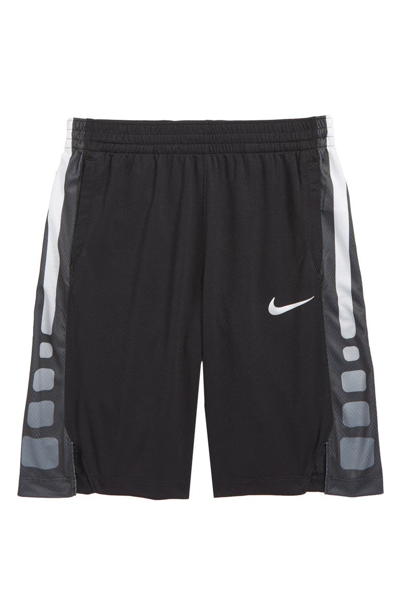 NIKE Dry Elite Basketball Shorts, Main, color, 015