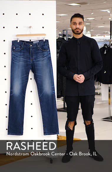 Everett Slim Straight Leg Jeans, sales video thumbnail