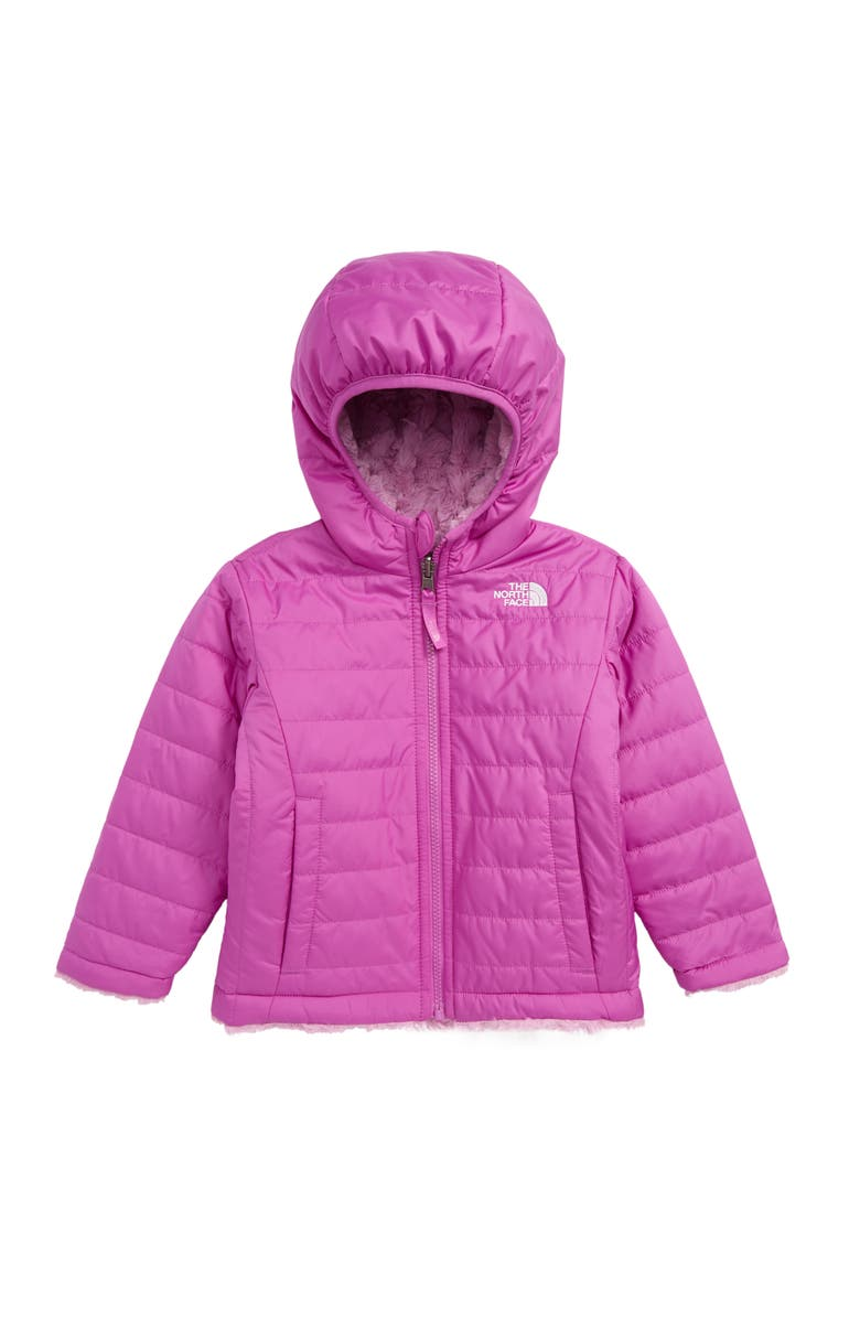 "Mossbud Swirl Reversible Water Repellent Heatseeker<sup>â""¢</sup> Jacket, Main, color, SWEET VIOLET"