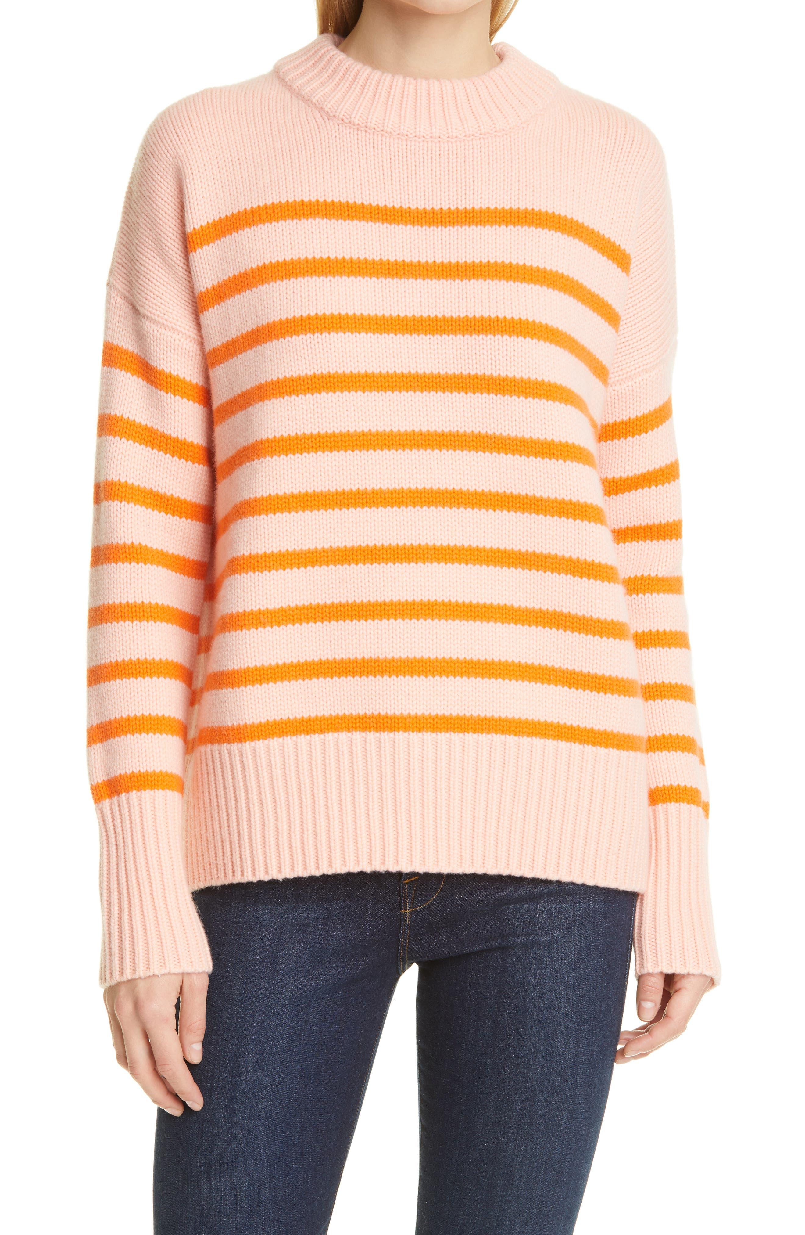 Marin Stripe Wool & Cashmere Sweater