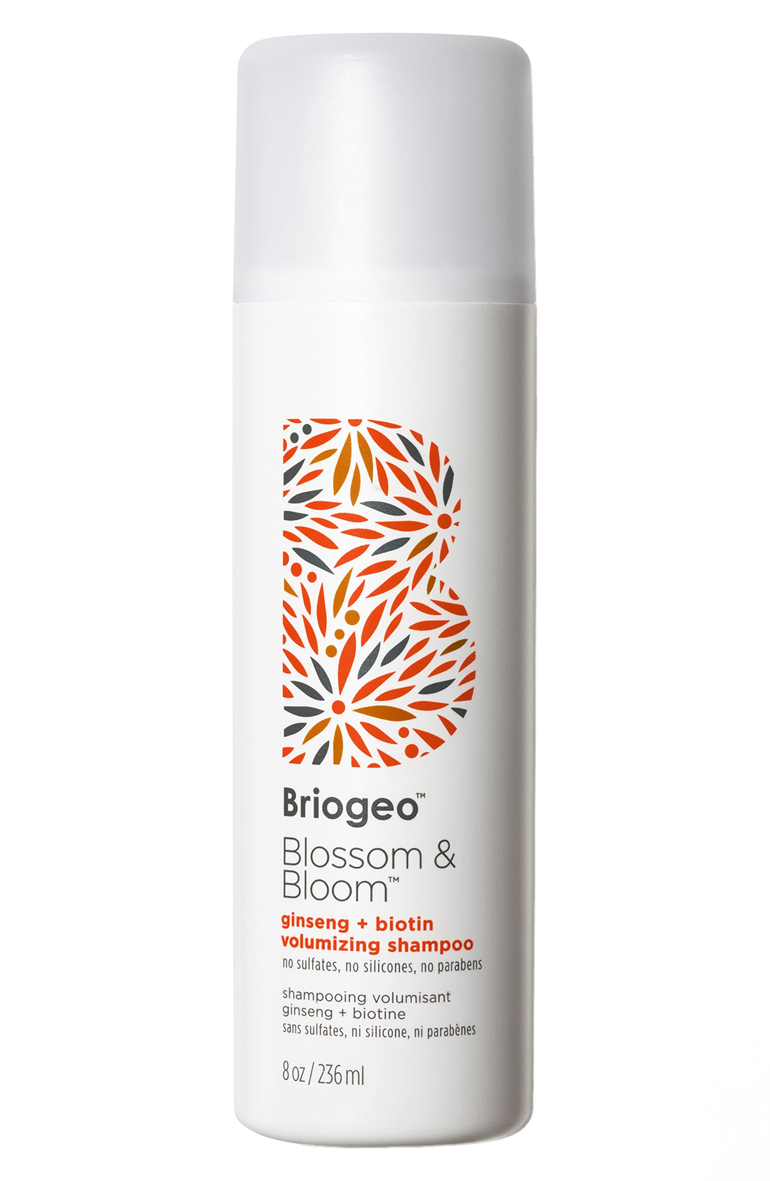Blossom & Bloom Ginseng + Biotin Volumizing Shampoo