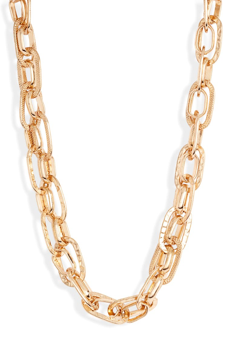 8 OTHER REASONS x Jill Jacobs Chain Link Necklace, Main, color, 710