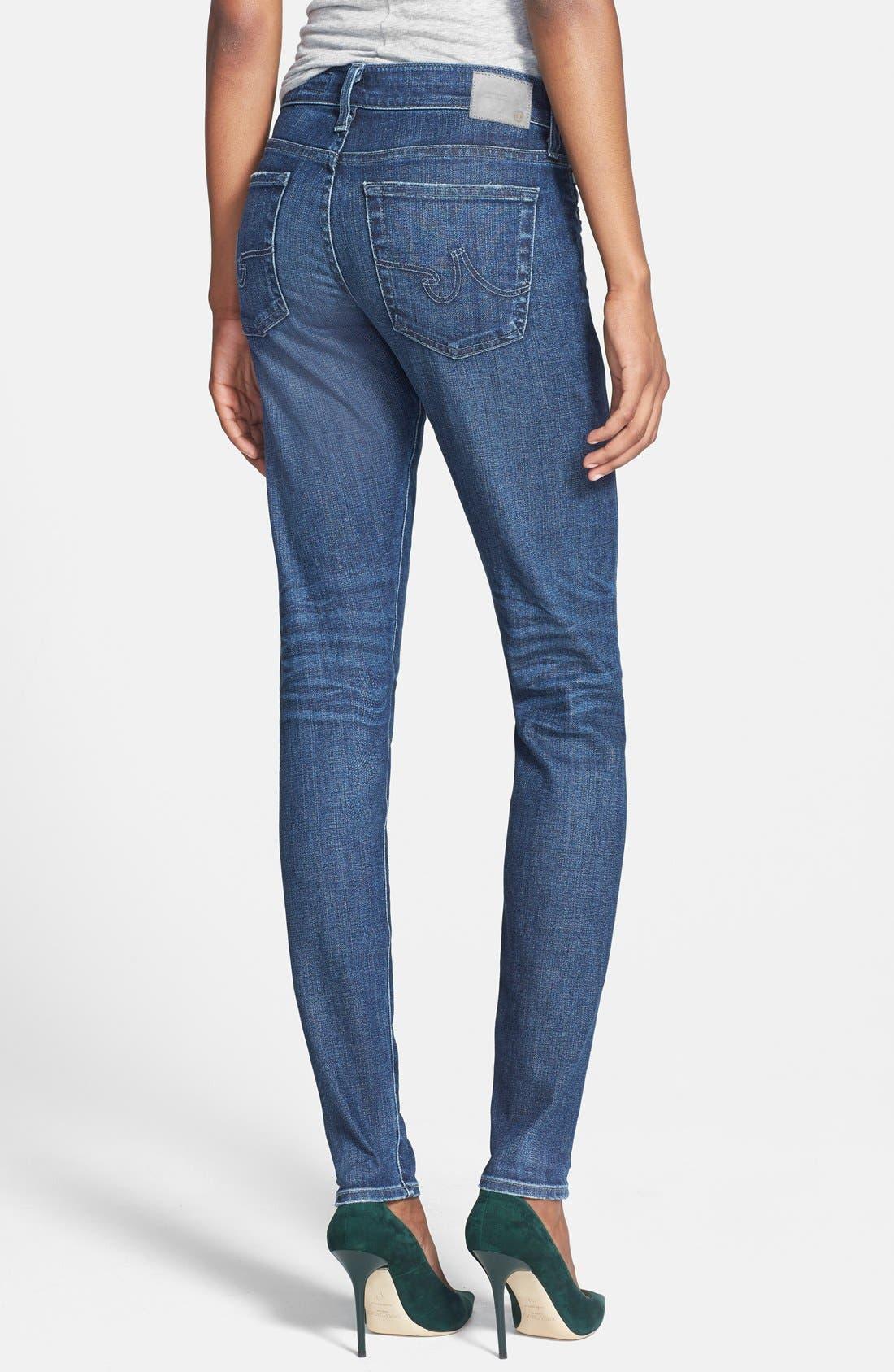 ,                             'The Nikki' Relaxed Skinny Jeans,                             Alternate thumbnail 7, color,                             470