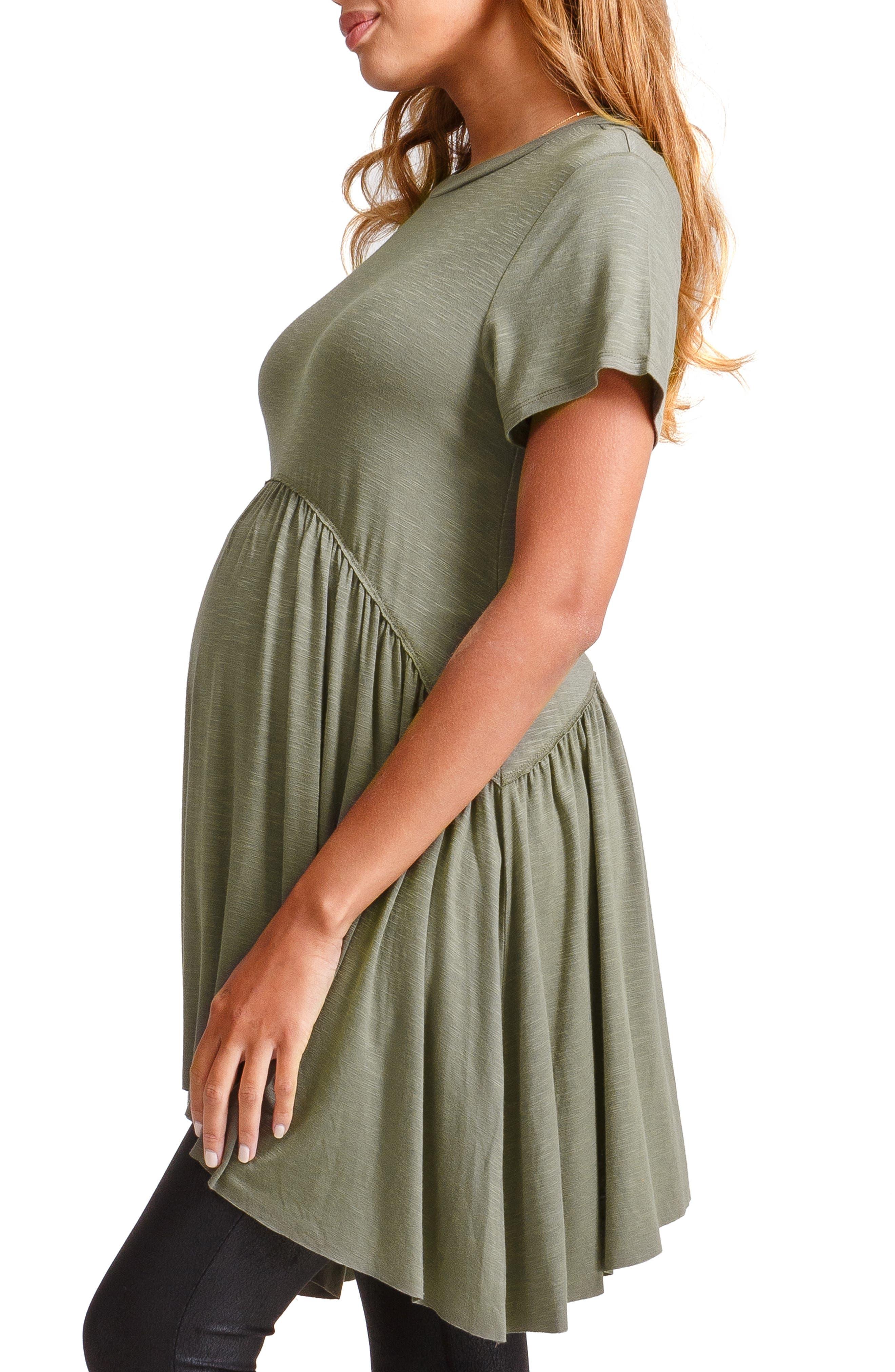 ,                             Handkerchief Hem Maternity Tunic,                             Alternate thumbnail 10, color,                             310