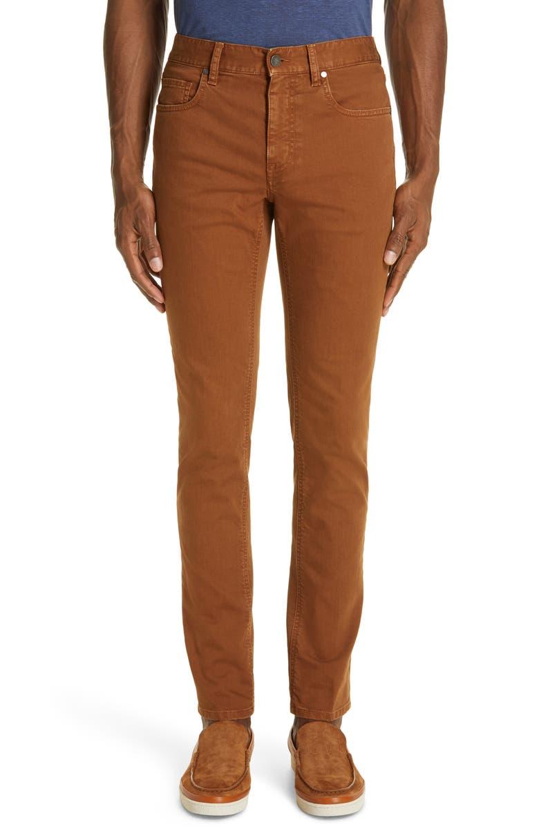 Z ZEGNA Slim Fit Jeans, Main, color, 250