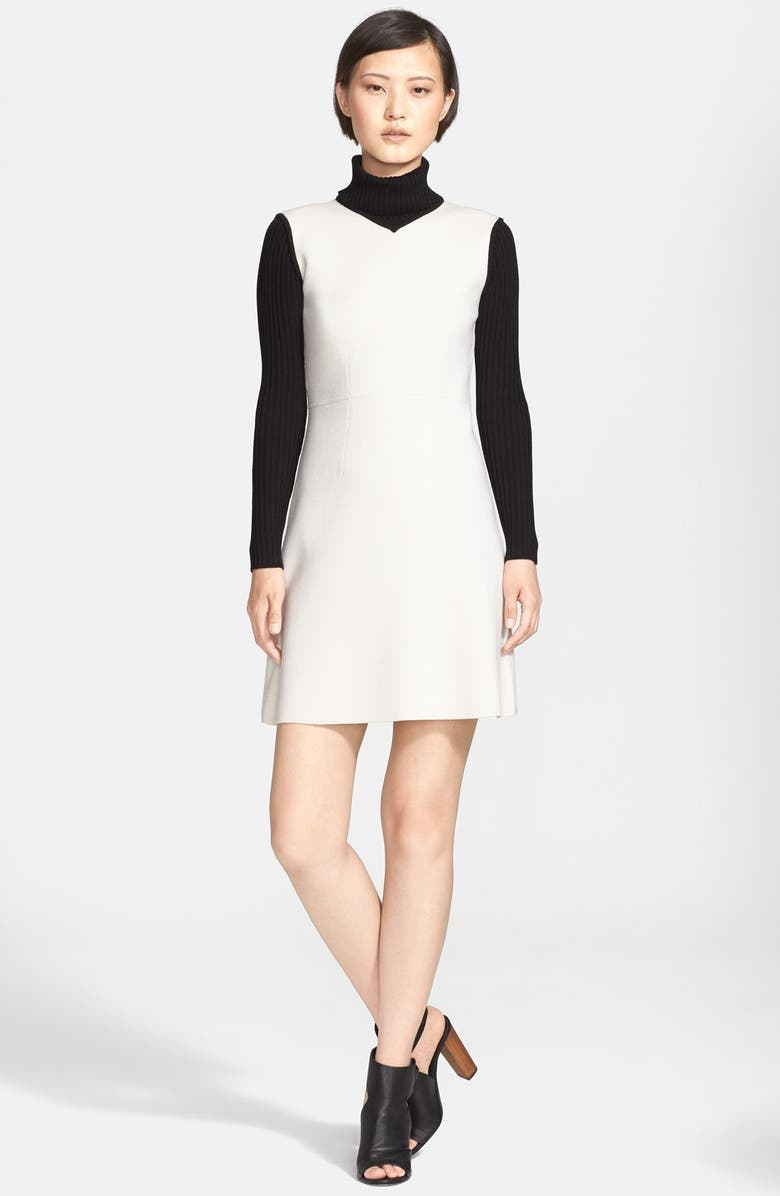 ebf32e713a Theory 'Myrelle' Wool Blend Shift Dress   Nordstrom