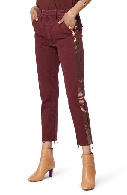 Image of MOTHER The Shaker Prep High Waist Crop Chinos