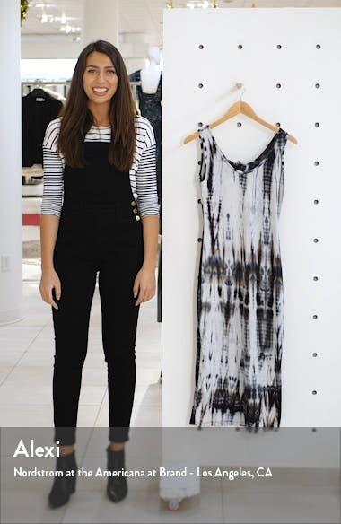 Sleeveless Tie Dye Midi Dress, sales video thumbnail