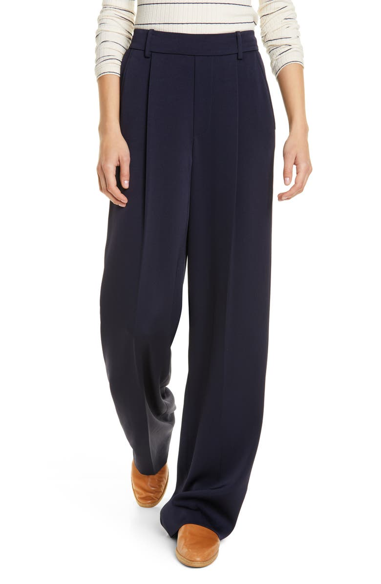 VINCE Wide Leg Pants, Main, color, COASTAL