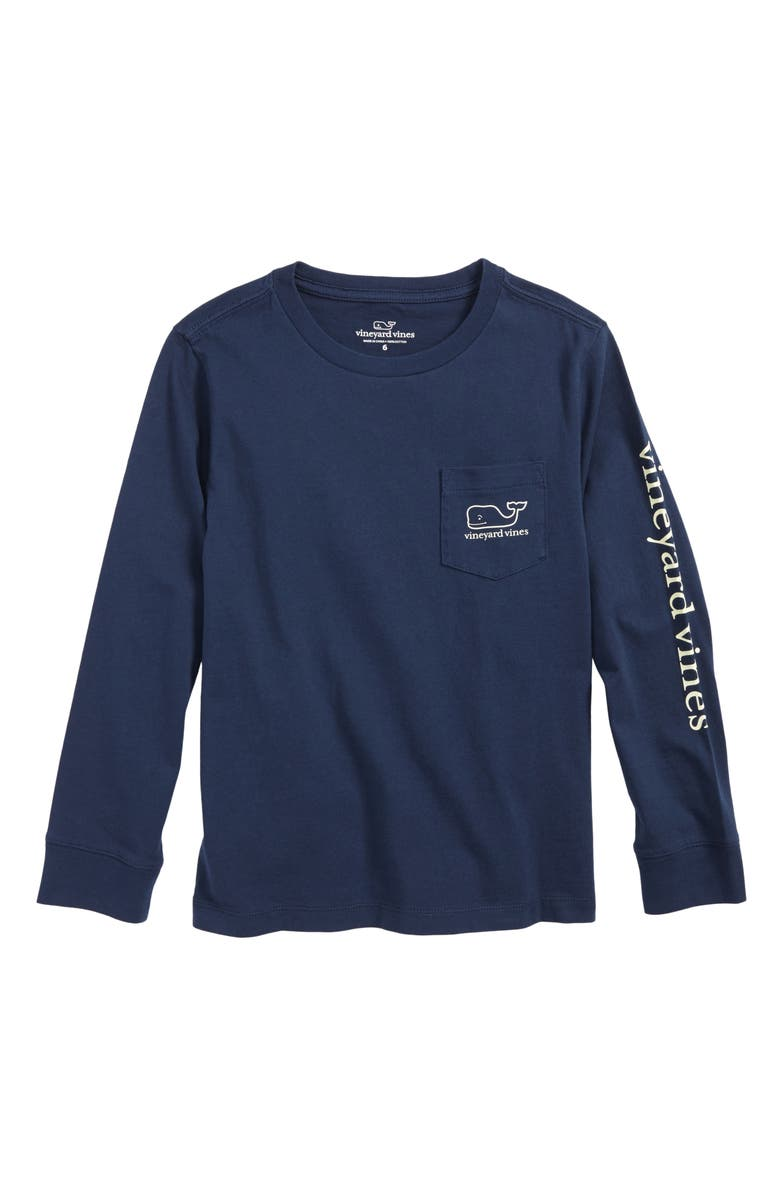 3869fb45 vineyard vines New Year's Scene Whale Pocket T-Shirt (Toddler Boys ...