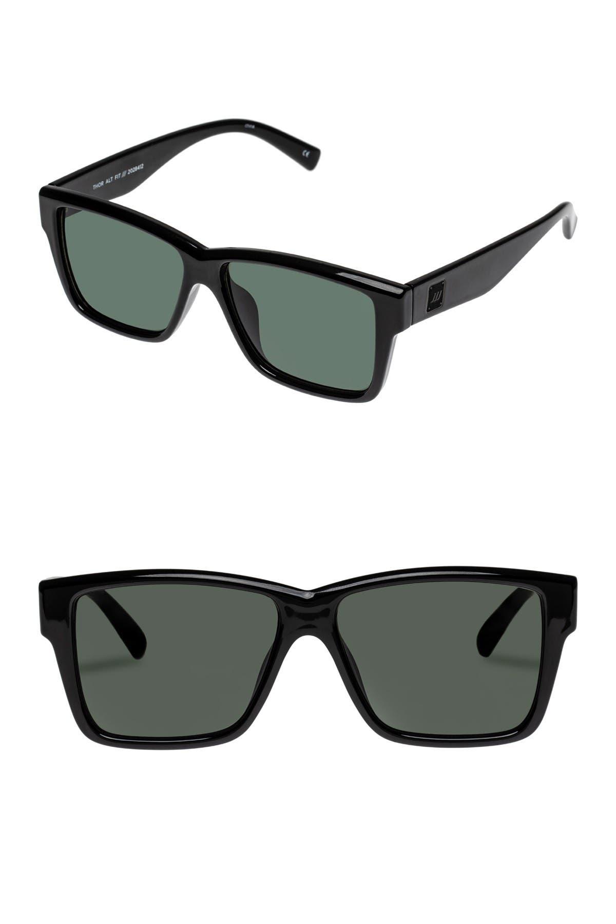 Image of Le Specs Thor 53mm Alt Fit Wayfarer Sunglasses