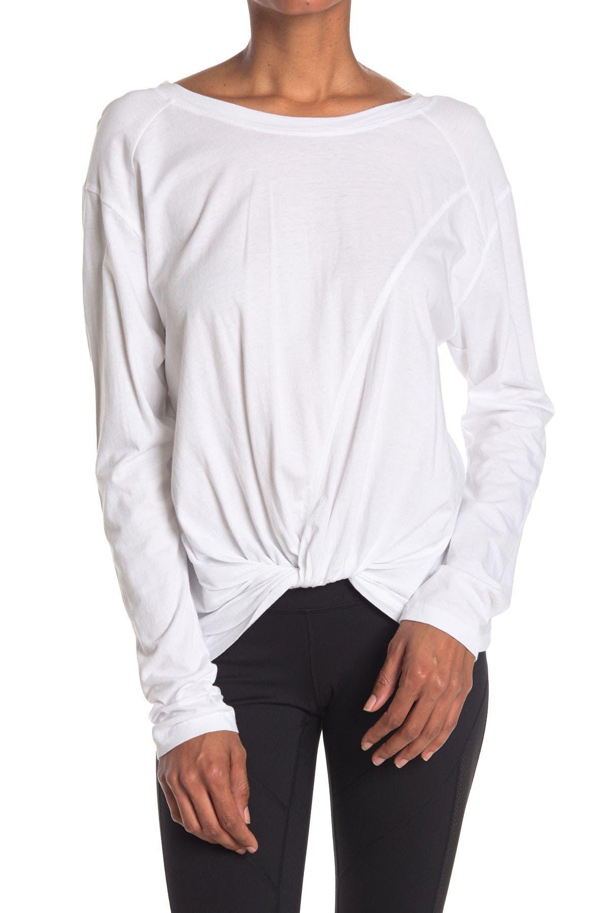 Image of Z By Zella Twist & Turn Washed Shirt