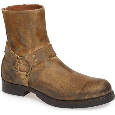 Frye John Addison Harness Boot- Brown