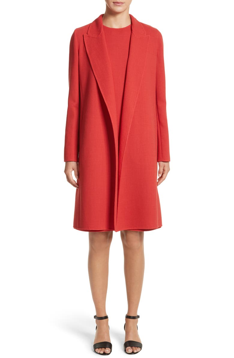 LAFAYETTE 148 NEW YORK Carmelle Nouveau Crepe Jacket, Main, color, 600