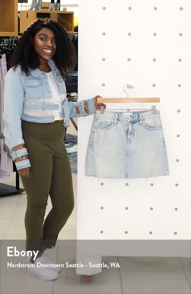 The Five-Pocket Denim Miniskirt, sales video thumbnail