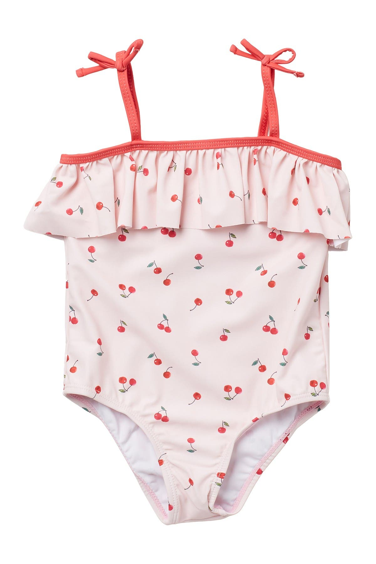 Image of Andy & Evan Ruffle Cherry One-Piece Swimsuit