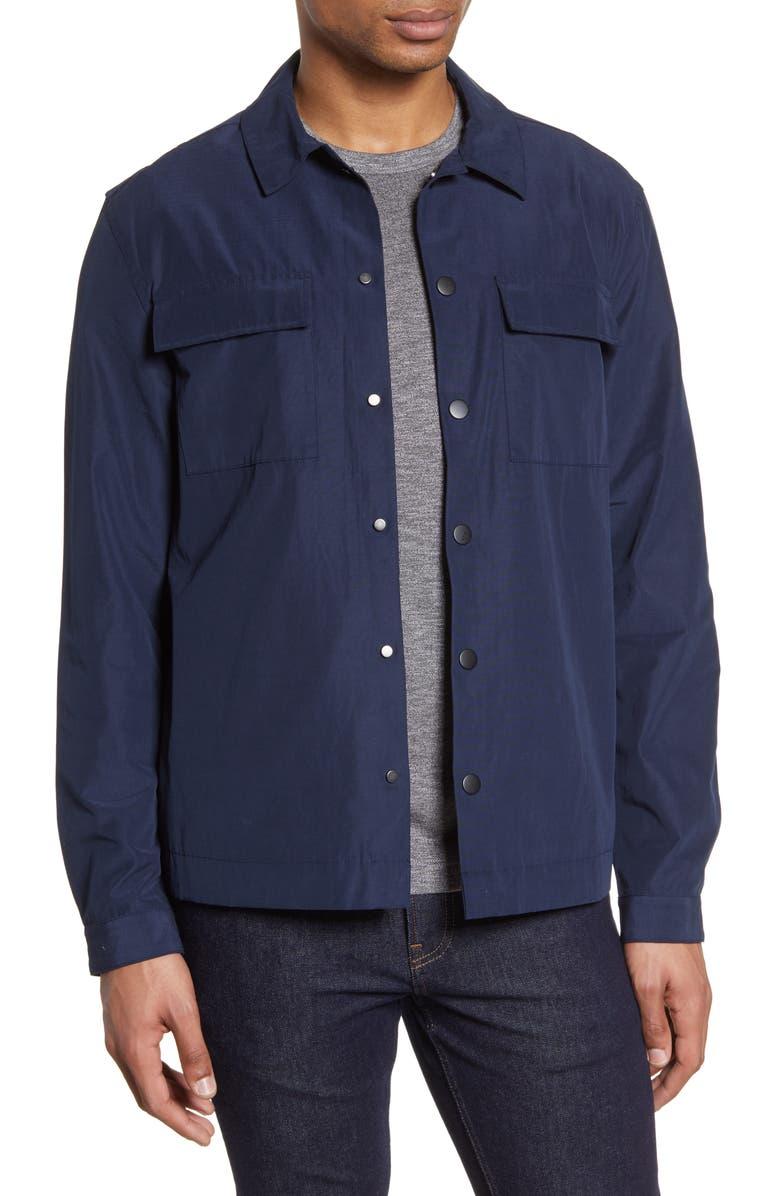 NORDSTROM MEN'S SHOP Shirt Jacket, Main, color, 401