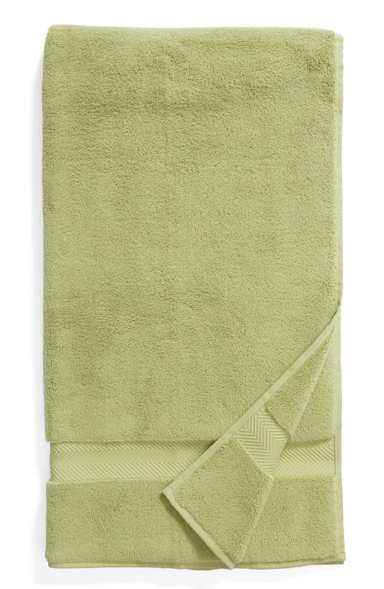 NORDSTROM AT HOME Hydrocotton Bath Towel, Main, color, OLIVE TARRAGON
