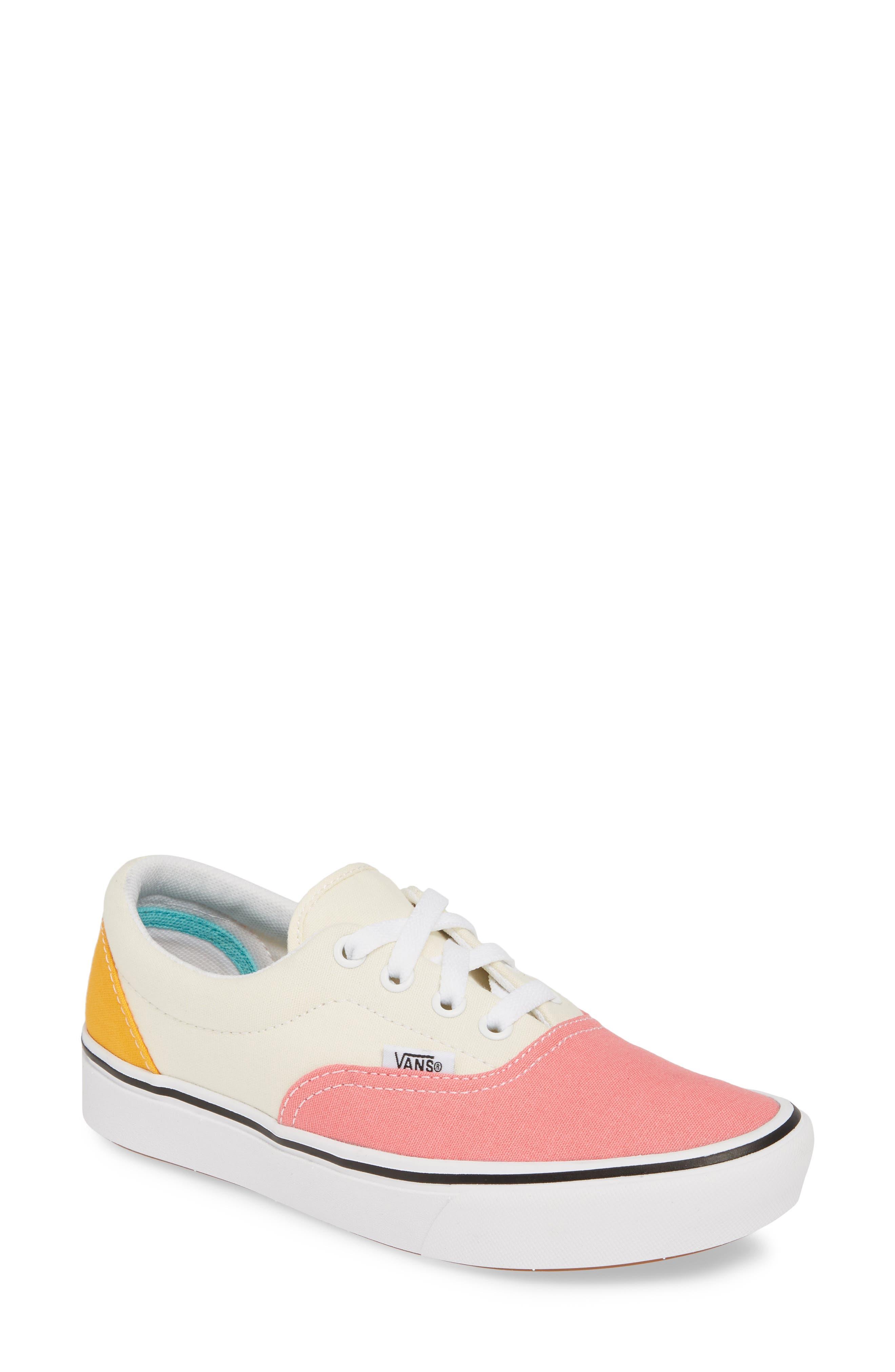 Vans Comfycush Era Colorblock Sneaker- Ivory