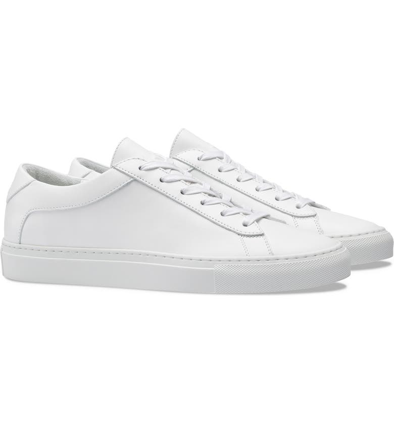 KOIO Capri Sneaker, Main, color, TRIPLE WHITE